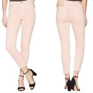 LAUREN PREMIER SKINNY CROPPED ENGLISH ROSE JEANS